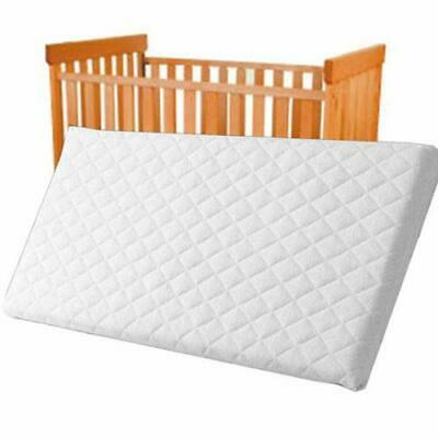Crib Mattress Baby Toddler COT Bed Breathable Quilted and Waterproof Foam Mattre