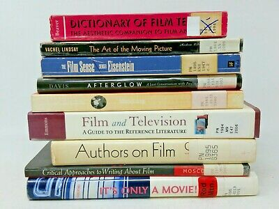 9 Book Lot: FILM CRITICISM Motion Pictures Movies Directing