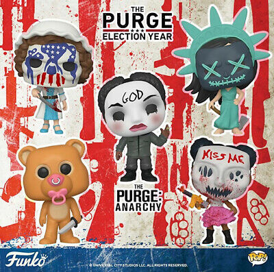 Funko Pop! The Purge Election Year Waving God Lady Liberty Besty Ross PRE-ORDER