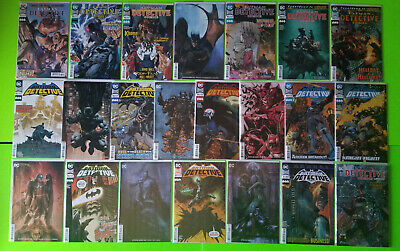 Detective Comics (Vol. 2) 973-1012 First Prints - Variants - NM Single Issues DC