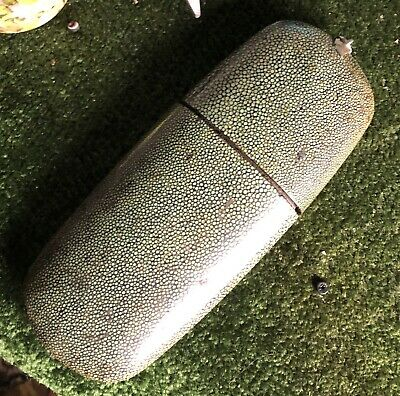Victorian Shargreen Oblong Case In Need Of Repair