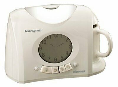 **Nearly New** Micromark Tea Express With Alarm Clock, Light And Lcd Display