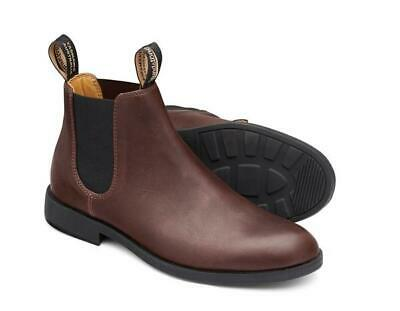 Men's Blundstone City Dress Pull On Boot With Round Toe BL 1900 Chestnut Leather