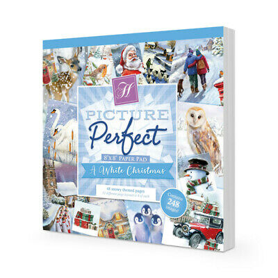 Hunkydory x48 Sheet Pad PERFECT PICTURE - WHITE CHRISTMAS - 20% OFF SALE