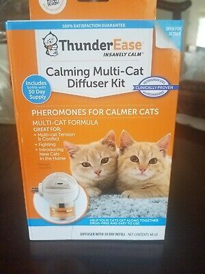 ThundeEase Calming Multi-Cat Diffuser Kit 30 Day