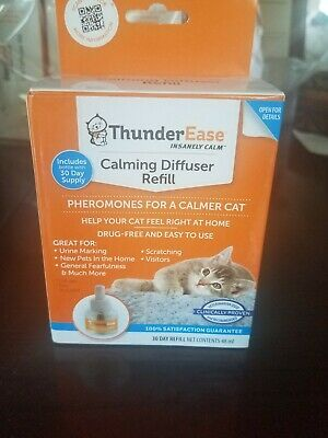 ThunderEase Calming Diffuser Refill Pheromones For Cat 30 Day Refill