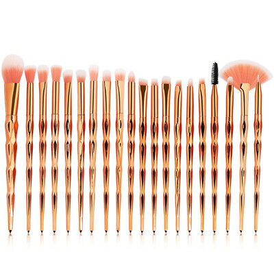 20PCS Unicorn Makeup Brushes Set Foundation Blush Powder Eyeshadow Brush Tool