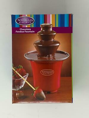 Nostalgia Electrics Chocolate Fondue Fountain *MINI* perfect for dipping candy!