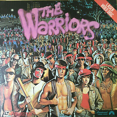 The Warriors - Laserdisc - 1979/1981 - NOT DVD, NOT BLURAY - art cult indie film
