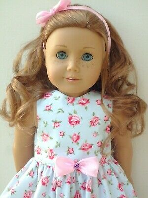 American Girl Our Generation  Blue  Rose  Dress Hairband 18 Inch Doll Clothes