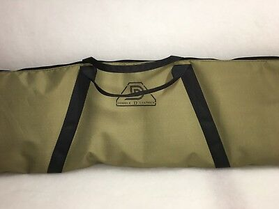 Gold Monster Metal detecting padded carry bag, detector, MINE LAB, double d