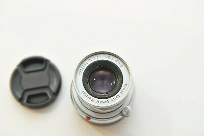 Leica 5cm f2.8 50mm Elmar M mount Lens for M3,4,5,6,7,8 W/Leica UV