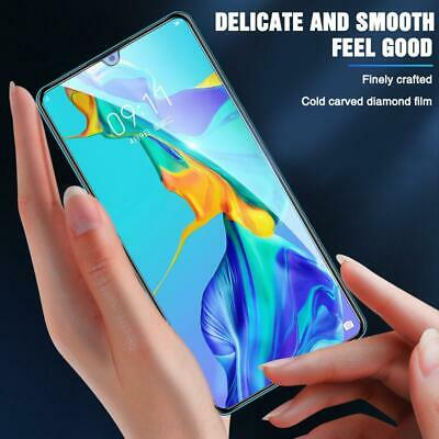 Huawei 5D Premium Tempered Glass Screen Protector For Huawei Y6 Y7 Pro Y9 Prime