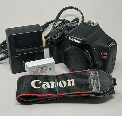 Canon EOS Rebel T2i 18.0MP Digital DSLR Camera Body Only