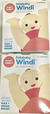 The Windi, by fridababy, Instant Natural Gas + Colic Releif (2-pack) Exp 3/2021