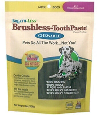Breathless Brushless Toothpaste for Large Dogs, Ark Naturals, 18 oz