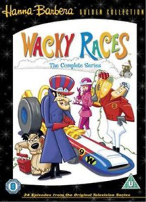 Wacky Races: Volumes 1-3 DVD NUOVO