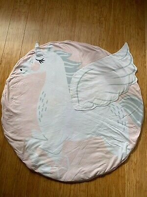 Mister Fly pink unicorn play mat. Excellent/perfect condition!