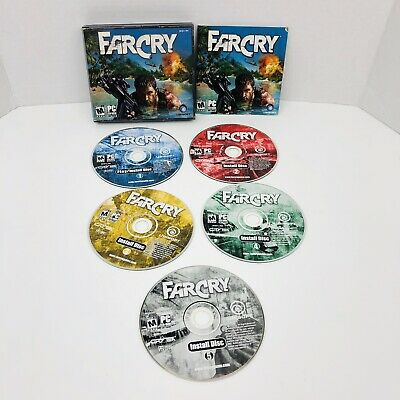 Far Cry (PC, 2004) First Person Shooter by Ubisoft ~Complete 5 Disc With Key