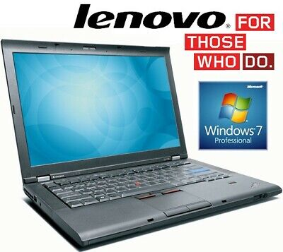 Cheap Fast Laptop Lenovo ThinkPad Office T410s i5 4GB Ram 160GB SSD Windows 7