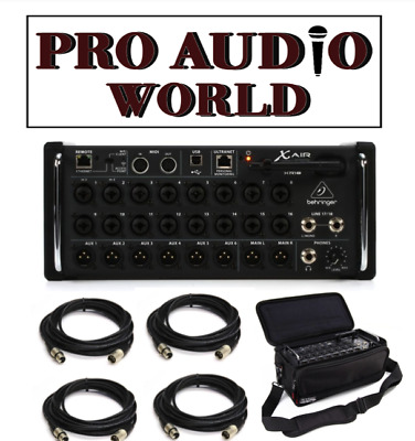 Behringer X Air XR18 18-Input Digital Mixer + PACKAGE DEAL