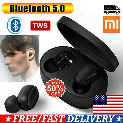 Bluetooth 5.0 Xiaomi Redmi AirDots Wireless TWS Earphone Active Earbuds US