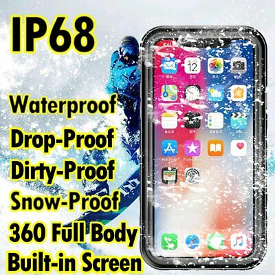 For Samsung Galaxy S10 S9 S8 Plus Waterproof Case Cover 360 Full Body Drop-proof