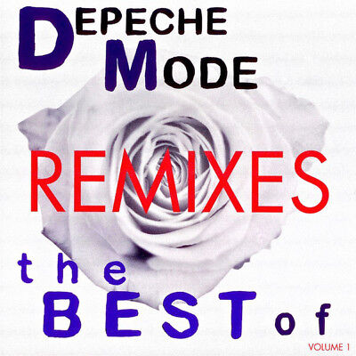 Depeche Mode-Best Of Remixes Rare Promo Cd Plcdbong39