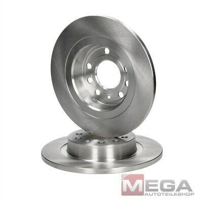 FOR FIAT CROMA SAAB 9-3 REAR PERFORMANCE DRILLED BRAKE DISC DISCS 292mm