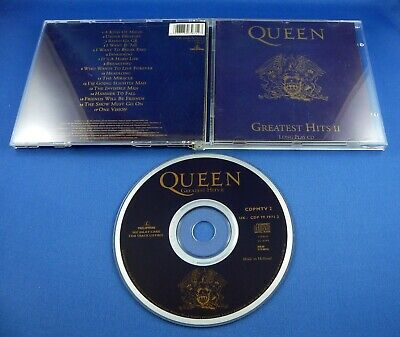 Queen Greatest Hits II -Parlophone (1991)CDP 797971-2