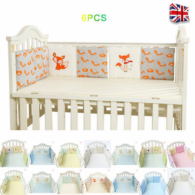 Baby Bedding Crib Bumper Infant Bed Cot Set Safety Protector Cushion Nursery