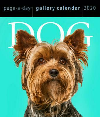 Dog Gallery 2020 Boxed Calendar Page-A-Day Calendar by Workman FREE POST
