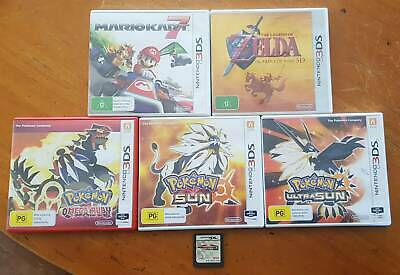 Various Nintendo DS/3DS Games