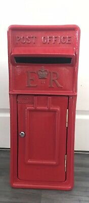 RED Royal Mail Replica ~ ER Post Box ~ Wedding Parties Post Cards Gifts HANDMADE