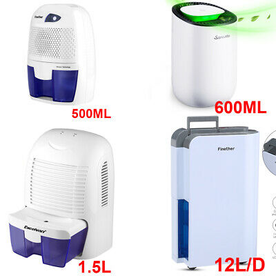 2019 Dehumidifier Air Dryer Moisture Damp Drying Home Bedroom 500ML/600ML/1.5L