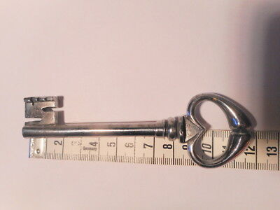 Key Antique Wrought Iron 4 1/2in Key 18 19 Th Century Old Key 10