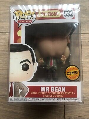 Funko Pop Chase. 592. Mr Bean, Turkey Head. Brand New Unopened.