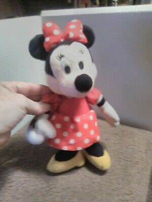 Collectable~Disney Minnie Mouse Mini Stuffed Animal Doll Toy