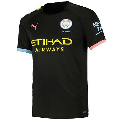 Mens 3XLarge Manchester City Away Shirt 2019-20 Free Champs Badge RM10