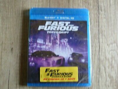 Blu ray DVD FAST AND FURIOUS TOKYO DRIFT neuf sous blister