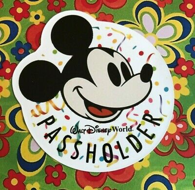 Walt Disney World Annual Passholder MAGNET MICKEY MOUSE CELEBRATE BIRTHDAY Gift