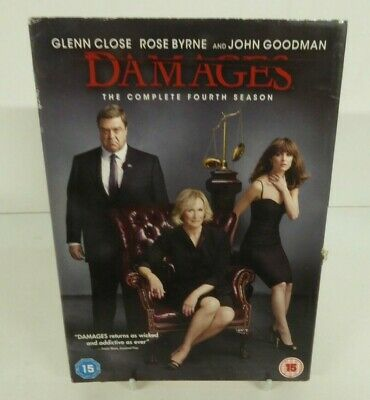 Damages - Season.4 - Dvd Cardboard Slipcover Only - No Discs