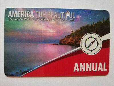 National Parks & Federal Recreational Lands USA - Annual pass - End June 2020
