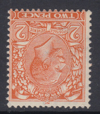 SG 370wi 2d Orange Die II wmk Royal Cypher inv Post Office fresh unmounted mint.