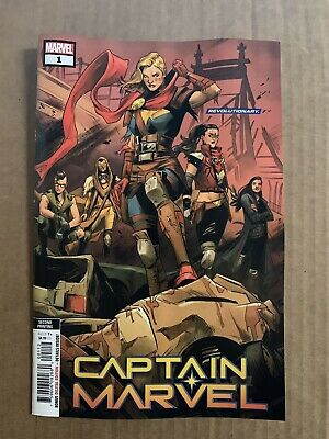 Captain Marvel #1 2Nd Print Variant Marvel Comics (2019) Carol Danvers Avengerss