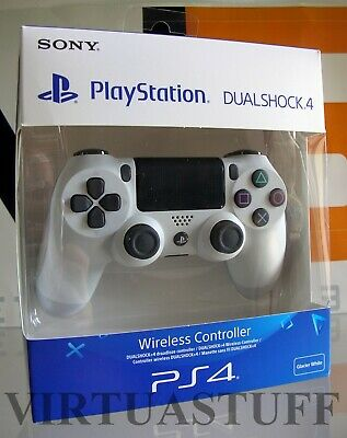 Dualshock 4, V2, White, Controller, Sony Playstation 4, Ps4, Nuovo, Brand New !!