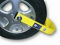 "Stronghold SH5436 Caravan Insurance Approved Alloy Wheel Clamp for 13"" 14"" 15"""