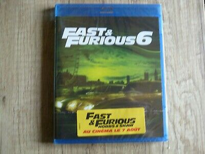 Blu ray DVD Fast and Furious 6 neuf sous blister