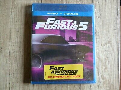 Blu ray DVD Fast and Furious 5 neuf sous blister
