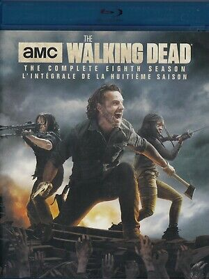 The Walking Dead Complete 8Th Season (Bluray)(5 Disc Set) (Used)
